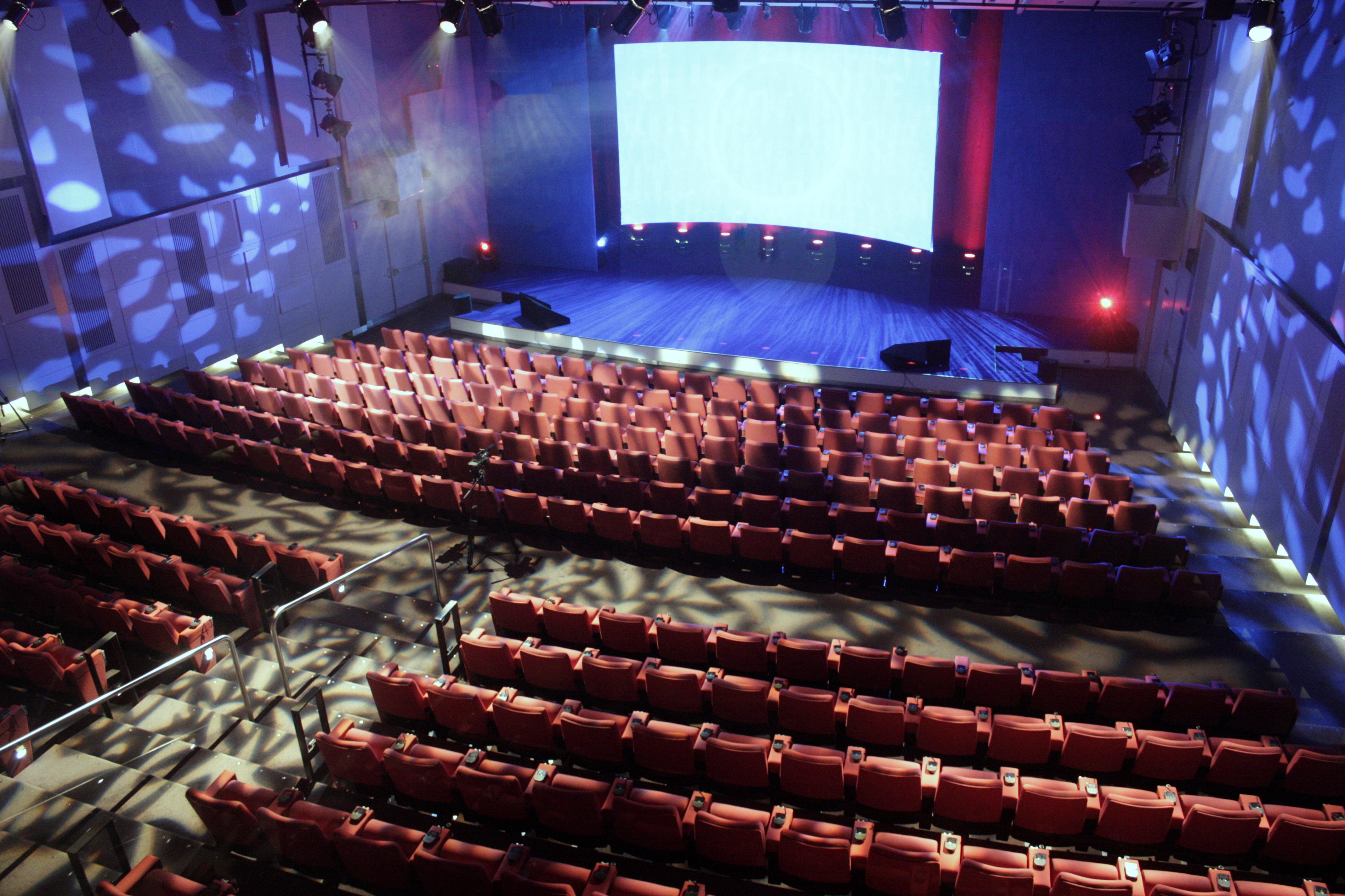 Evoluon theaterzaal Philips Hall